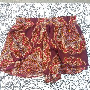BAND OF GYPSIES tassle trimmed shorts